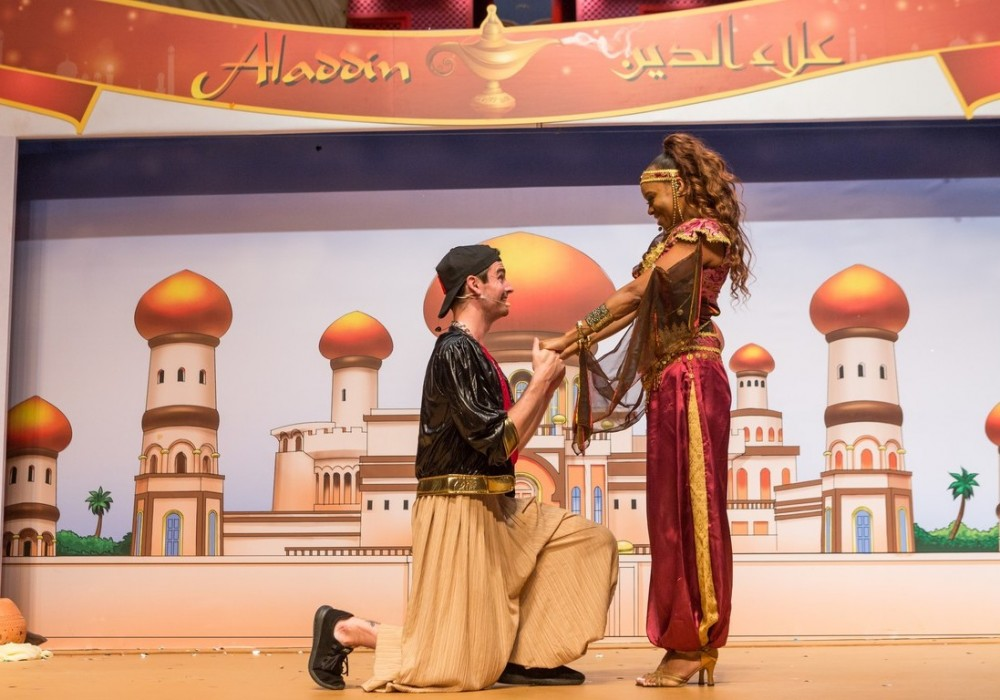 Aladdin Stage Show & Workshop June 2019