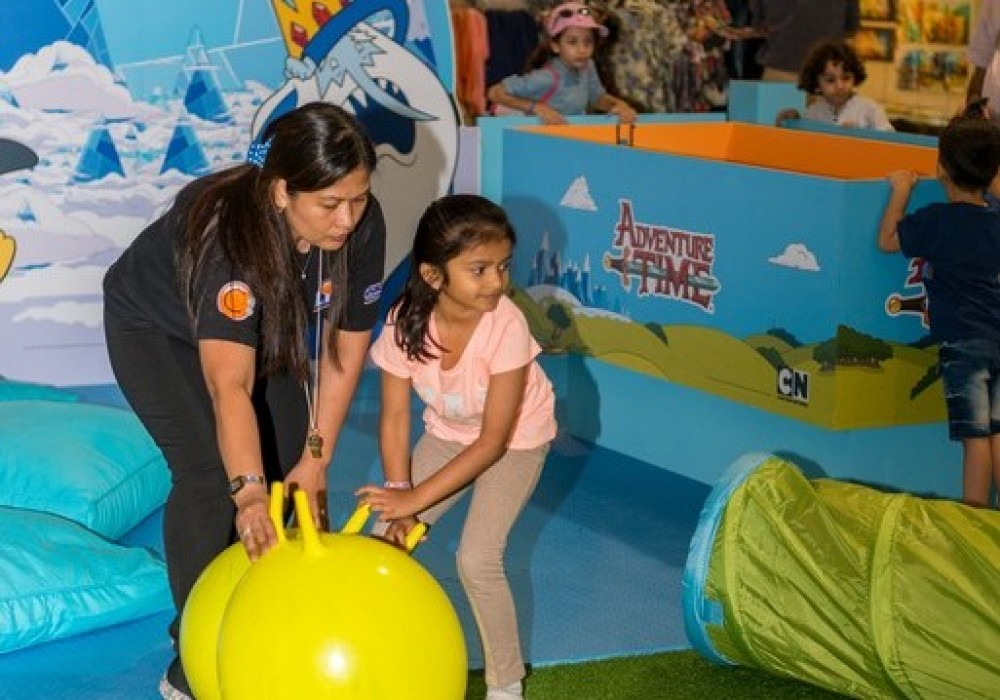 Adventure Time Activity Zone April 2018