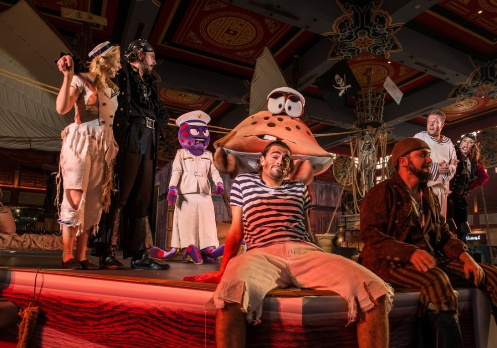 Pirates of the Gulf Live Stage Show July 2017
