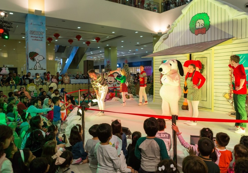 Snoopy Festive Village and Live Stage Show  December 2018