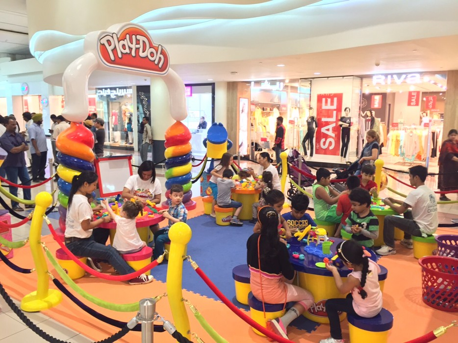 Play Doh Zone Workshop and Activity August 2015